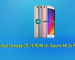 Lineage OS 16 ROM on Xiaomi Mi 5s Plus
