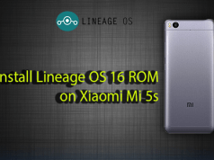Install Lineage OS 16 ROM on Xiaomi Mi 5s