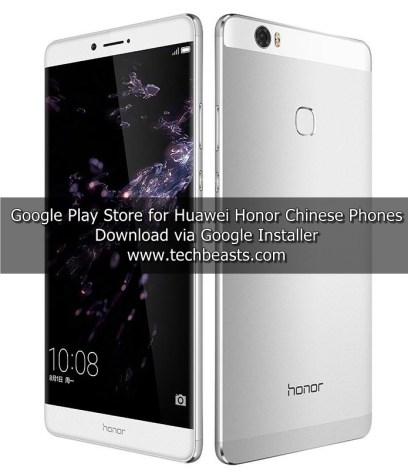 Google Play Store on Huawei Honor Chinese Phones