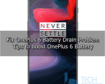 OnePlus 6 Battery Drain Problems