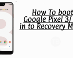 Boot Pixel 3 & Pixel 3 XL into Recovery Mode.