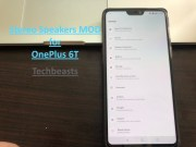 Stereo Speakers MOD on OnePlus 6T