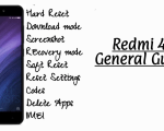 Xiaomi Redmi 4A General Guides