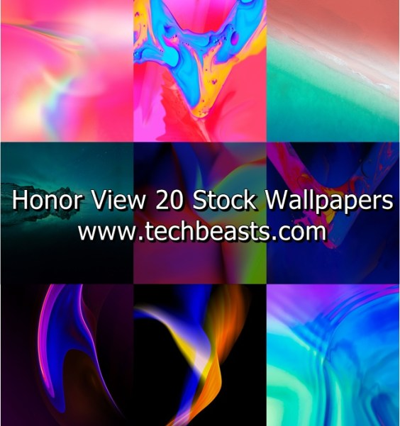 Honor View 20 Stock Wallpapers