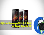 Install Official LineageOS 15.1 ROM on Sony Xperia SP