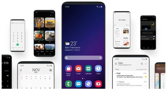Galaxy Note 9 One UI