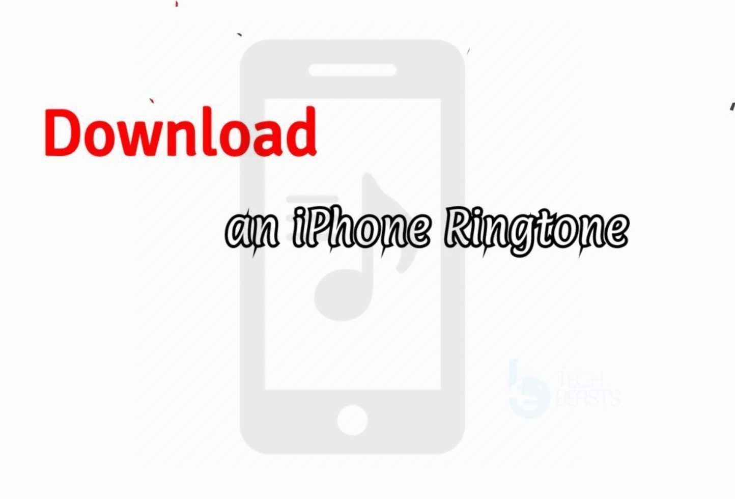 Download An Iphone Ringtone How To