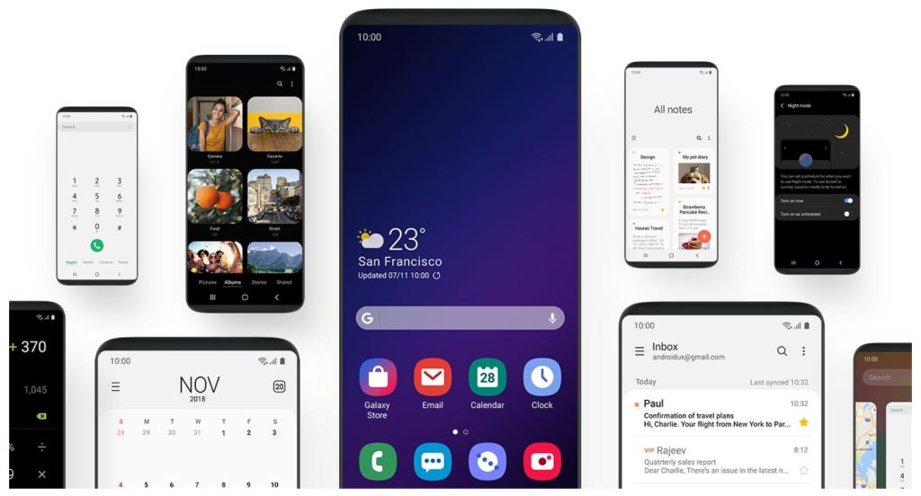 Download Android Pie on Galaxy Note FE | TechBeasts