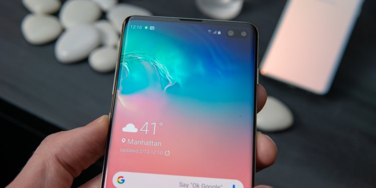 backup and restore data on Galaxy S10