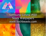 Galaxy M30 Stock Wallpapers