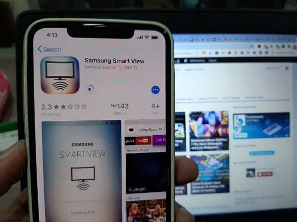 Connect iPhone/iPad To Samsung Smart TV