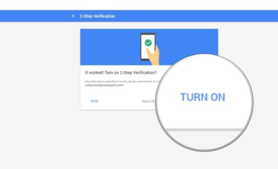 Android Phone to Verify Google Sign