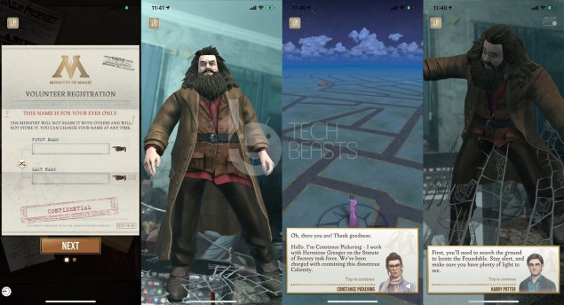 ios location spoofing harry potter wizards unite