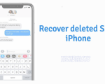 recover deleted SMS in an iPhone