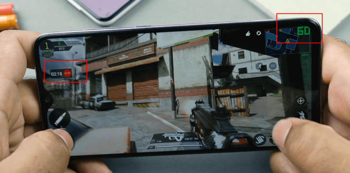 Call of Duty Mobile FPS Meter