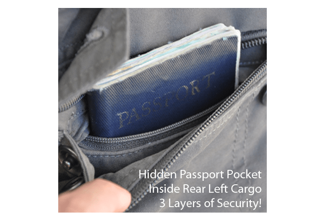 Pick-Pocket Proof Pants For The Traveling Gadgeteer