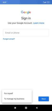 gmail login different user
