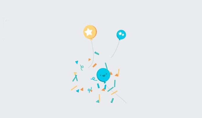 facebook text animation - Facebook congratulations animation