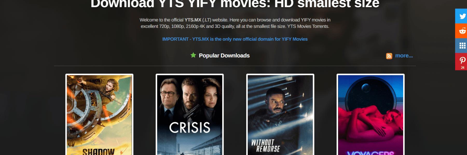 YTS (YIFY)