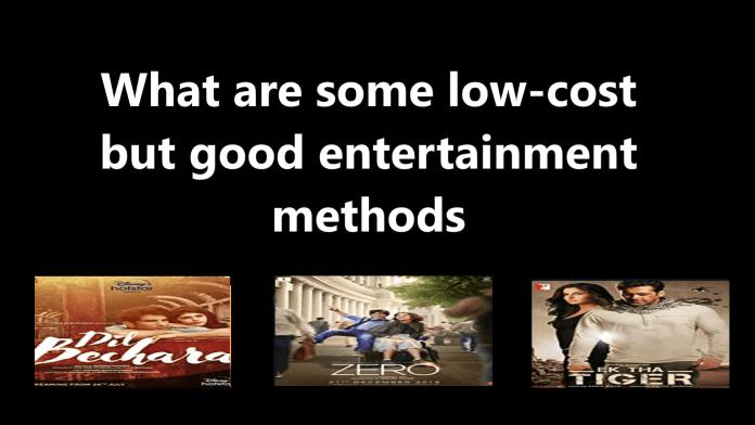 entertainment methods