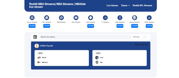 NBA BITE (Alternatives of SportSurge)