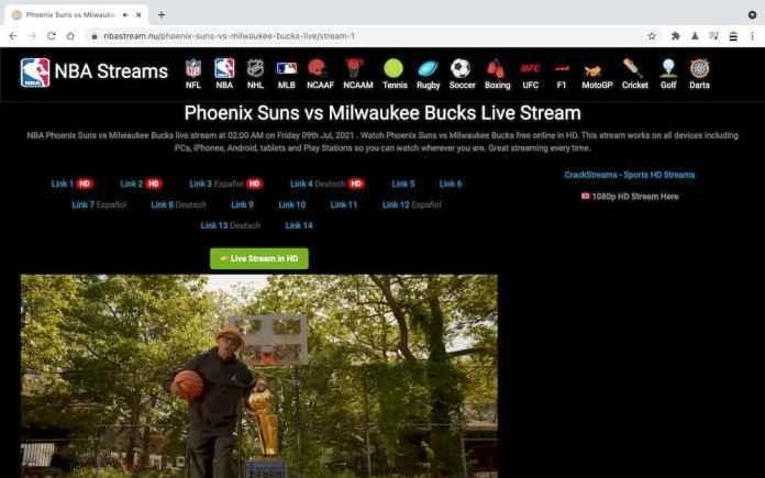7個免費NBA直播線上看網站推薦 - nbastream.nu