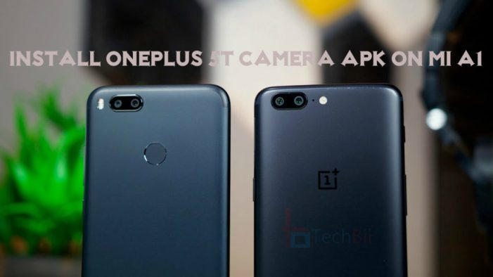 download OnePlus 5T camera for Mi A1