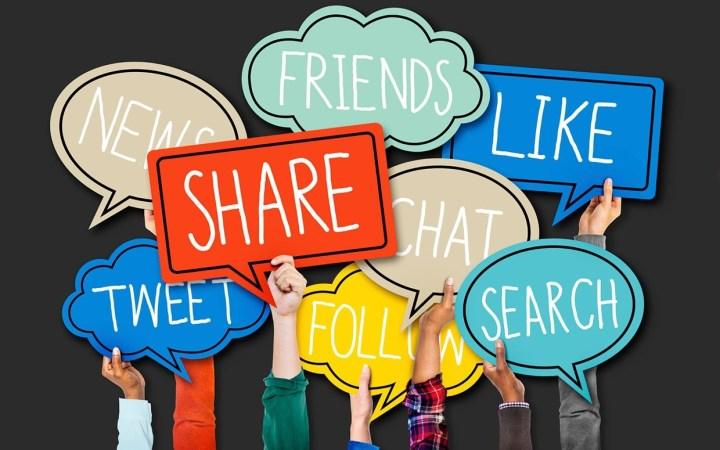 Social Media Sharing To Rank