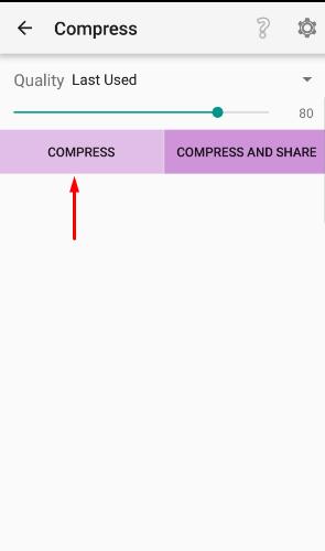 compress image
