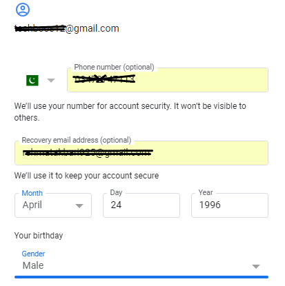 gmail account for apple id