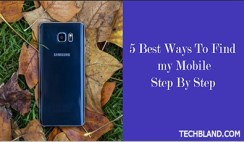 5 best ways to find my mobile