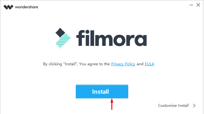Filmora Converter for video to mp3