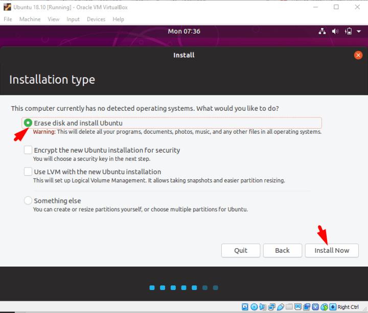 Install Ubuntu Now