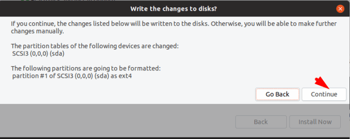 Disk Changes