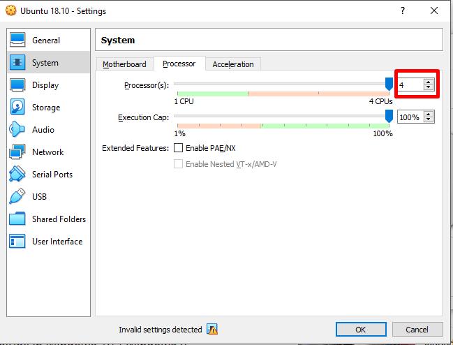 Processor option