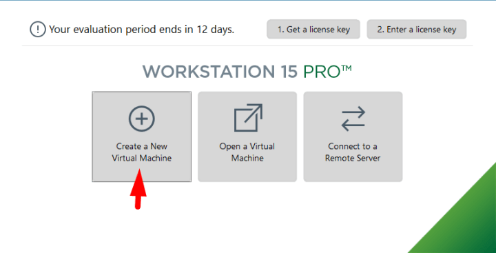 How to create a new virtual machine in vmware workstation