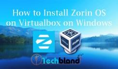 install zorinos on virtualbox on windows