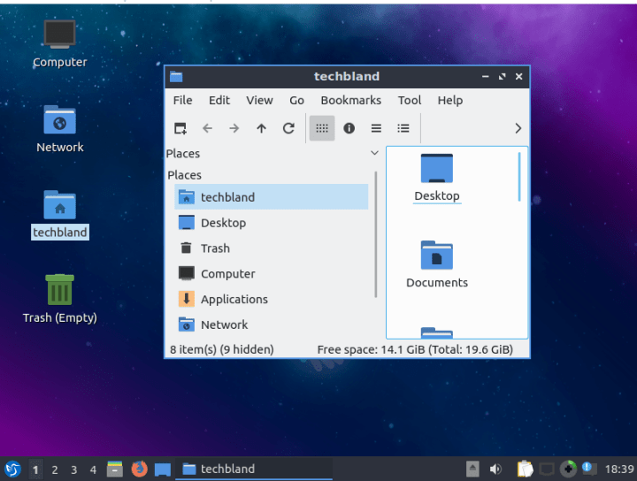 lubuntu 19.04 on virtualbox