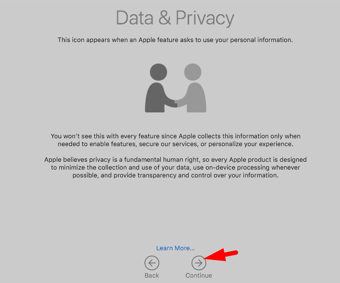macos mojave data and privacy