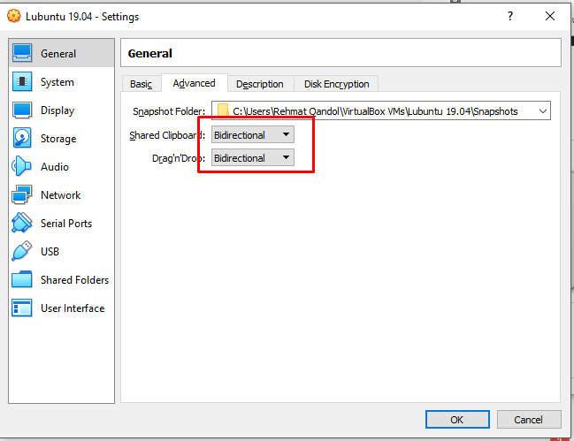 install lubuntu on virtualbox