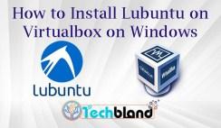 install lubuntu on virtualbox on windows