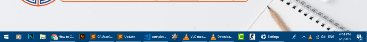 show labels icon in taskbar in windows 10