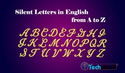 silent letters in english from a to z