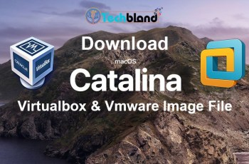 Download MacOS Catalina Virtualbox & Vmware Image File