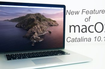 New Features of MacOS catalina 10.15