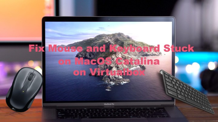 How to Fix Mouse and Keyboard Stuck on macOS Catalina on virtualbox