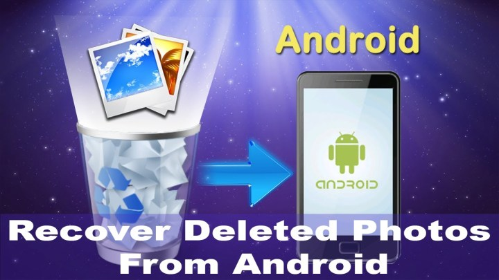 How to recover deleted photos from Android