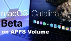 How to install MacOS Catalina on APFS volume and dual-boot with mojave