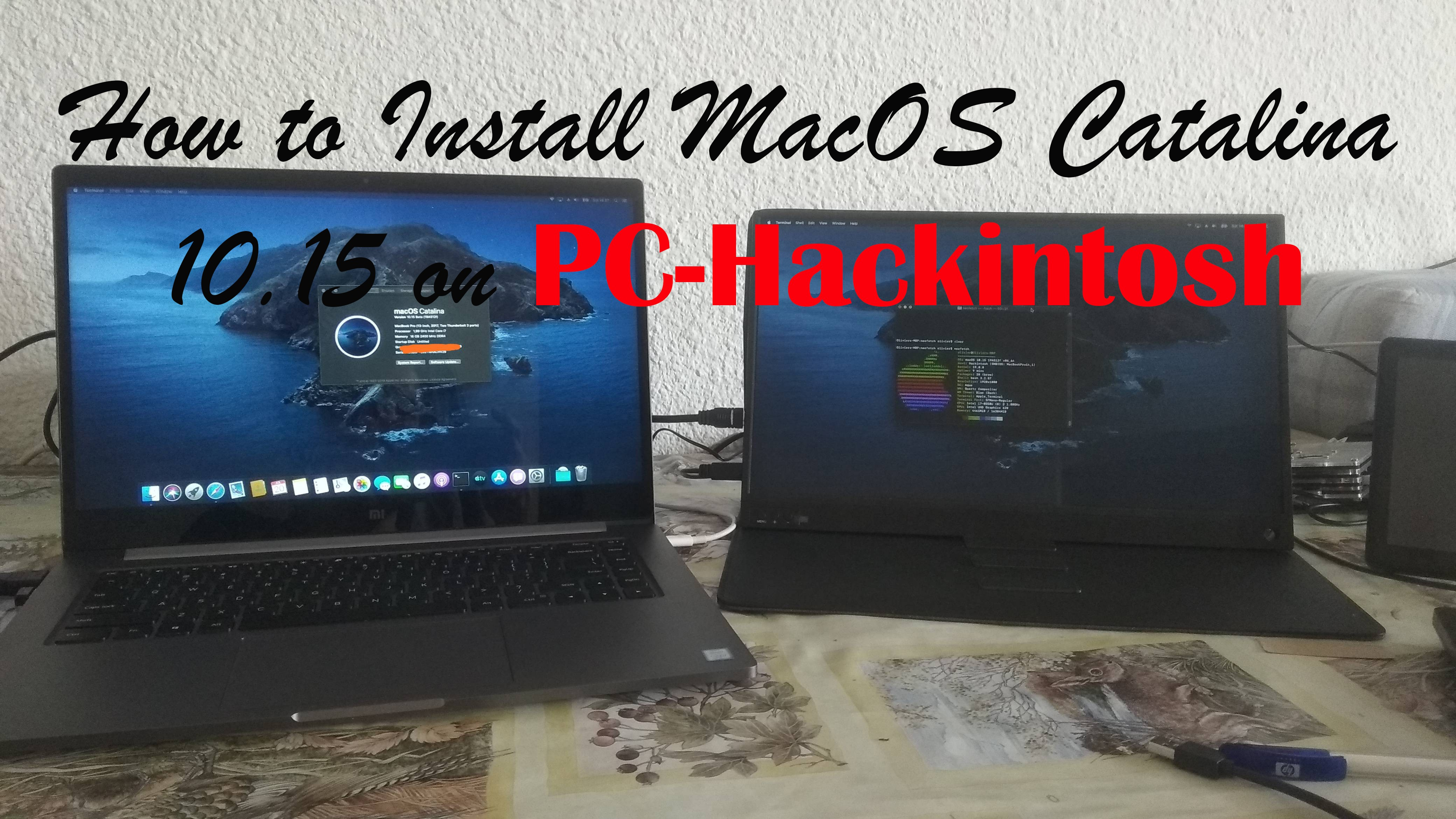 How to Install Mac OS X on Windows PC - YouTube