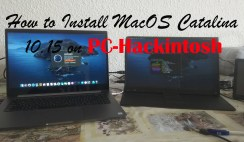How to Install MacOS Catalina on PC-Hackintosh